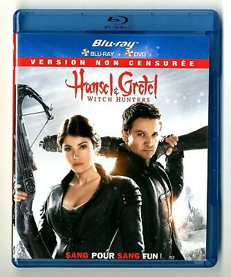 Blu-Ray + Dvd / Hansel & Gretel Witch Hunters / Comme Neuf