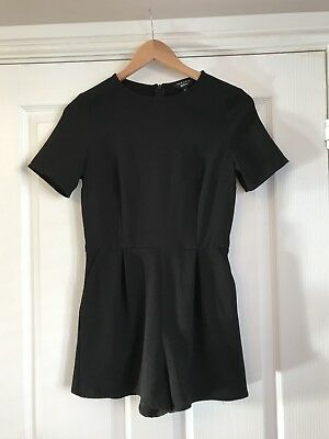 New Look Black Playsuit With Side Pockets Age 12