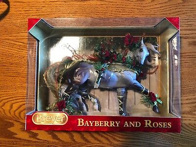 Breyer Bayberry And Roses 700117 Traditional Holiday NIB 2014 Christmas Horse