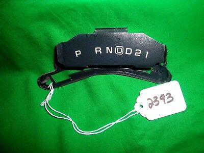 73-87 CHEVY TRUCK Gear Shift Indicator Plate GM OEM 4 Speed O/D Automatic  81-87