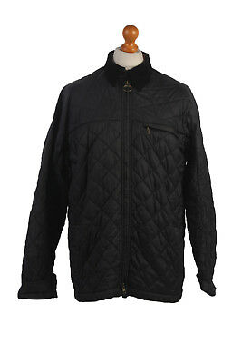 Barbour Quilted Jacket Classic Liddesdale Black Chest 46'' BR431