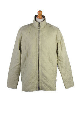 Barbour Quilted Jacket Liddesdale Sportsquilt Beige Chest 46'' BR492