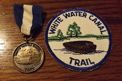 Boy Scout Medal / Patch White Water Canal Trail