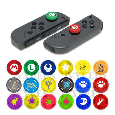 2 PCS Nintendo Switch Joy Con Joystick Analog Stick Thumb Grips Silicone Caps