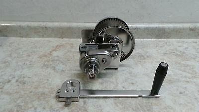 Thern M4042PBSS 1000 Lb 1st Layer Load Cap Lift/Pull Spur Gear Hand Winch