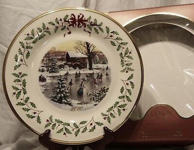 Lenox ~The Annual Holiday Collector Plate 2010 20th in Series Made in USA Box