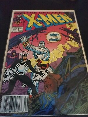 Uncanny X-men #248 Key 1st Jim Lee FN+ Signed by Jim Lee & Chris Claremont!