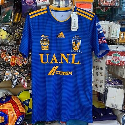 TIGRES UANL ADIDAS Away Jersey 2017 18 New w tags Size Large  9 ... 67896d71e