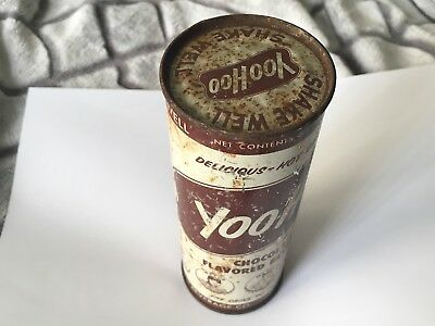 Sealed 50s Yoo Hoo Can Mickey Mantle Soda Yankees Chocolate Milk Vintage 1950s