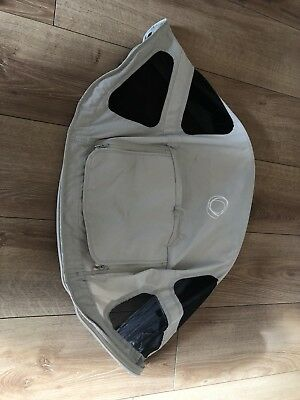 BUGABOO Bee Plus Bee 3 Bee 5 Breezy Sun Canopy Fully Extendable In Arctic Grey