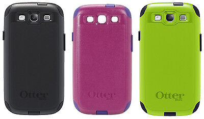 Brand New!! Otterbox Commuter Case For Samsung Galaxy S3 w/ Screen Protector