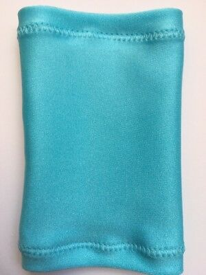 Lycra PICC Line or Freestyle Libre Cover - Baby Blue