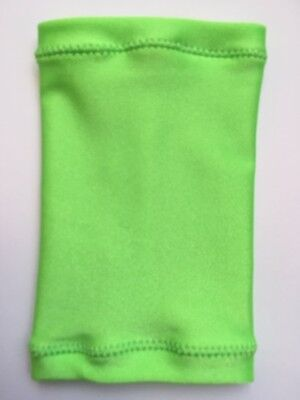 Lycra PICC Line or Freestyle Libre Cover - Lime Green