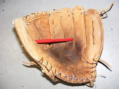 Vtg Wilson A2000 XL USA soft leather broken laces Used Free Shipping