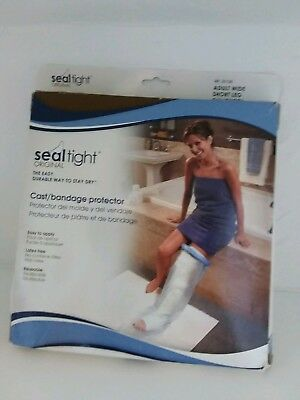 Seal Tight Adult Short Leg 24 Ins Cast Bandage Protector New