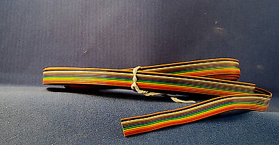 11 Conductor Rainbow Color Flat Ribbon Cable ~ 40 Feet