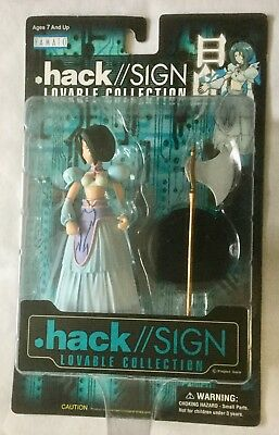 Bandai 2001 Hack/Sign Lovable Collection SUBARU Anime Action Figure Dot Hack
