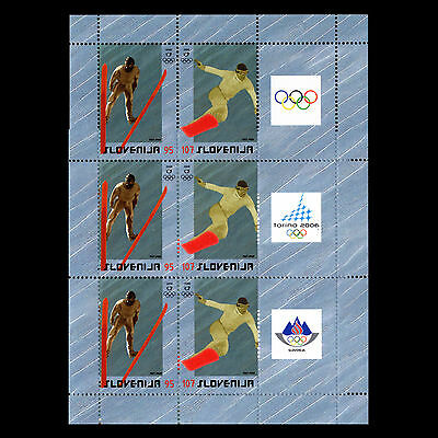 Slovenia 2006 - Summer Olympic Winter Games Turin Sports S/s - Sc 657a MNH
