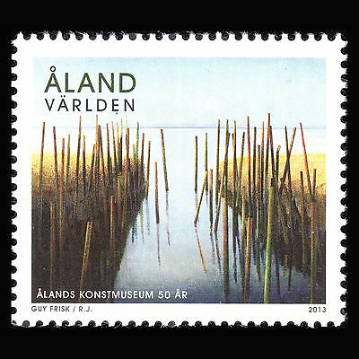 """Aland 2013 - Paintings """"The 50th Anniv of Aaland Art Museum"""" - Sc 338 MNH"""