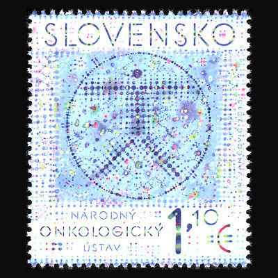 Slovakia 2015 - 25th Anniversary of the National Cancer Institute - Sc 725 MNH