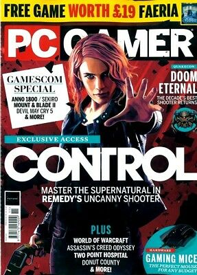 Pc Gamer Magazine Issue #323 - 2018 The Top 100 Issue ~ New ~