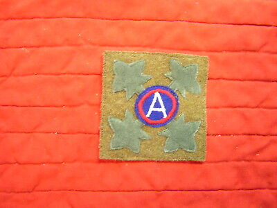 4Th Div 3Rd Army Wwi  Occupation Patch