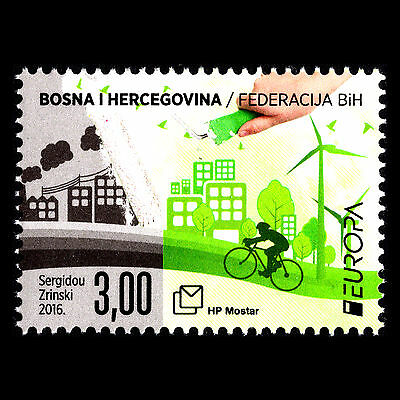 "Bosnia 2016 - EUROPA Stamps ""Think Green"" - Sc 330 MNH"