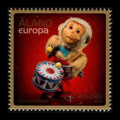 """Aland 2015 - EUROPA Stamps """"Old Toys"""" - MNH"""