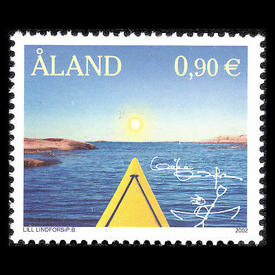Aland 2002 - Aaland Through the Eyes of Lill Lindfors - Sc 206 MNH