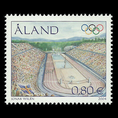 """Aland 2004 - Summer Olympic Games """"Athens"""" Sports - Sc 226 MNH"""