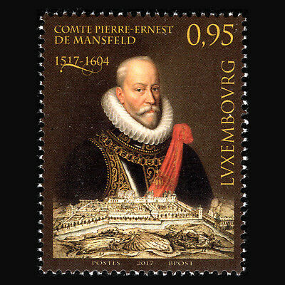 Luxembourg 2017 - 500th Anniversary of Count Peter-Ernest von Mansfeld - MNH
