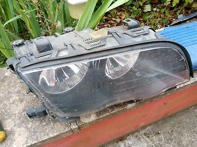 bmw e46 320d 4door touring pre facelift o/s driver side headlight