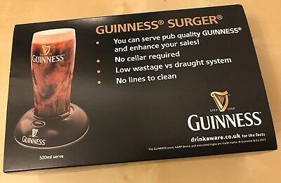 Guinness Surger Unit, brand new, boxed never been used - Draught pint at home!