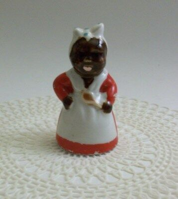 Vintage Mammy Salt or Pepper Shaker, Black Americana
