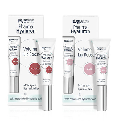 LIPS UP Hyaluron Volume Lip Booster Rose / Marsala 7 ml Serum powiększające usta