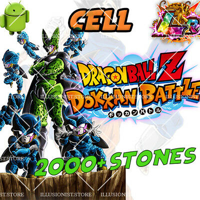 🌟Android - Dokkan Battle - Cell LR with 2000+ Dragon Stones - Global