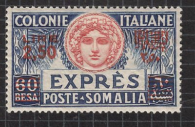 SOMALIA 1926 2L50 on 60b Expresso MH