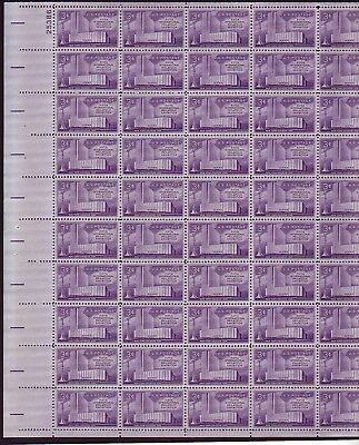 At Face Value! #1076 Fifth International Exhibition. Mint Sheet. F-Vf Nh.