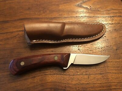 Vintage Western USA W82 Fixed Blade With Original Sheath