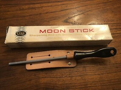 Vintage Case XX Moon Stick With Original Sheath And Box Pat Applied For