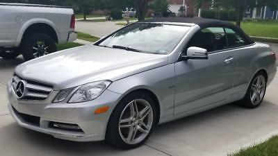 2012 Mercedes-Benz E-Class e350 2012 mercedes-benz e 350 e-class convertible only 4100 mile... No Reserve!!!