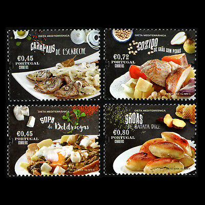 Portugal 2015 - The Mediterranean Diet Foot Gastronomy - Sc 3720/3 MNH