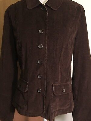 Talbots Dark Brown Leather SUEDE Bomber-Style Jacket Coat 8 14 Misses NWT $399