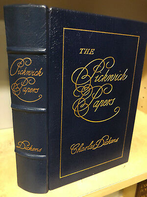 Easton Press The Pickwick Papers by Charles Dickens  Famous Edition