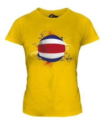 Costa Rica Football T Shirt Femme T Shirt Cadeau Coupe Du