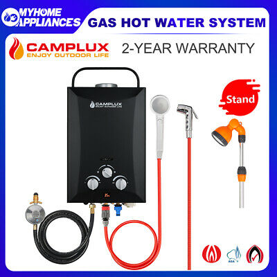 CAMPLUX  Gas Hot Water Heater Portable Camping Shower Stand Caravan 4WD