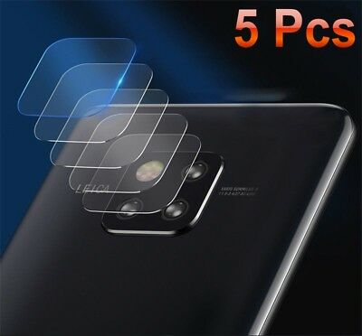 5X Huawei Mate 20 Pro Lite Back Camera Lens Tempered Glass Screen Protector DO/D