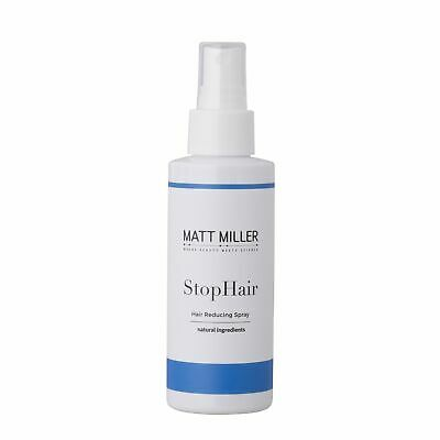 Matt Miller's StopHair - Hair Reducing Spray 100% Natural and Permanent Hair Gro