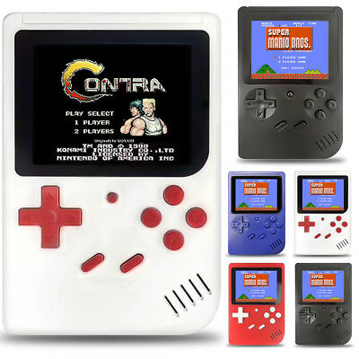Retro Mini Handheld Game Console Emulator Built-in 300 Games Video Games Gift US