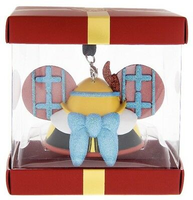 DISNEY PARK Pack Exclusive PINOCCHIO Ltd Edition Ear Hat ORNAMENT in Box NEW